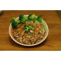 日曬麵-丁 芝蔴醬麵+海帶芽調理湯包 165公克/包 (素食可) 5包入/1組