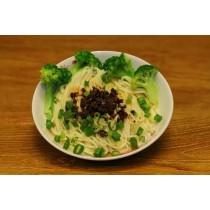 日曬麵-丁 香菇醬麵+海帶芽調理湯包 160公克/包 (素食可) 5包入/1組