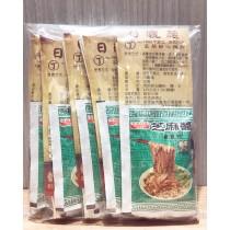 愛捐-日曬麵-丁 芝蔴醬麵+海帶芽調理湯包 165公克/包 (素食可) 5包入/1組