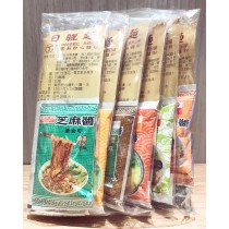 愛捐-日曬麵-丁 乾拌麵綜合口味  七種口味 (各1包)+海帶芽調理湯包